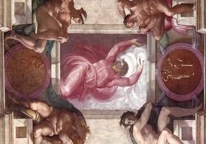 На фреске Микеланджело нашли мозг