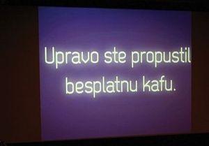 Посетителей сербского кинотеатра призвали учить немецкий язык
