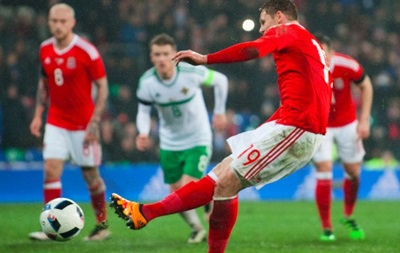 Уэльс сыграл вничью с Северной Ирландией