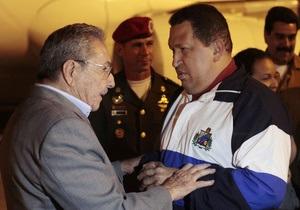 Чавес завершил лечение на Кубе и вернулся в Венесуэлу
