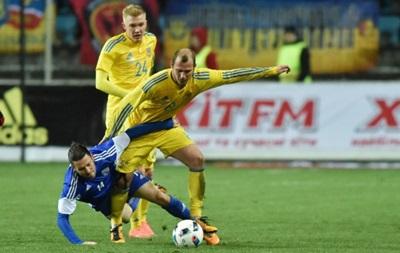 Победа над Кипром стала юбилейной для сборной Украины