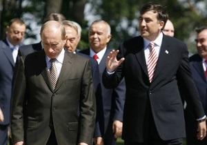 Саакашвили назвал слухи о неприязни между ним и Путиным мифом