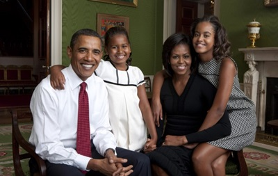 Месси хотел бы встретиться с Обамой и его дочерьми