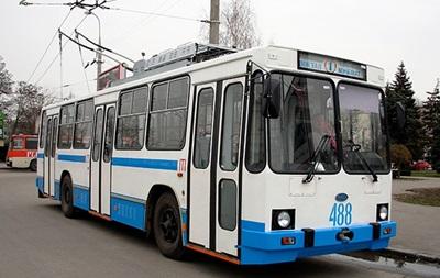 У Херсоні зупинилися тролейбуси