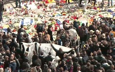 В Брюсселе полиция водометами разогнала митинг