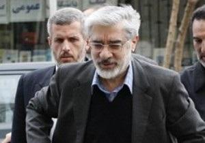 Власти Ирана заблокировали дом лидера оппозиции
