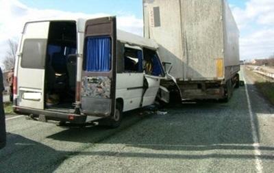 ДТП в Полтавской области: восемь жертв