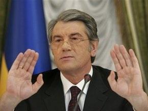 Ющенко не будет отвечать на резкое заявление Медведева