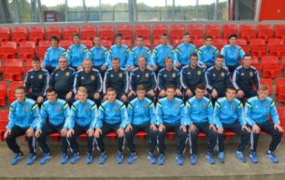 Сборная Украины (U17) с первого места вышла на Евро-2016