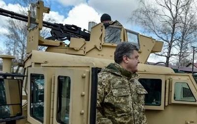 Порошенко призвал Запад пересмотреть поставки оружия в Украину