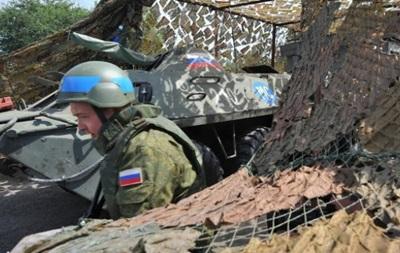 Россия провела в Приднестровье военные учения