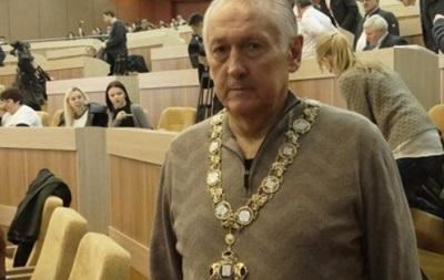 Фоменко вручили коллар Почетного гражданина Сум