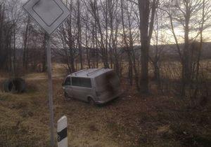 УП: Кортеж из нескольких джипов устроил ДТП около Ивано-Франковска. В ГАИ все отрицают