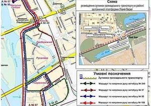 В Киеве автобус №108 изменил маршрут