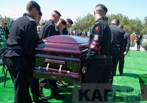 В Феодосии похоронили мэра Александра Бартенева
