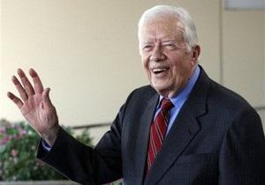 Экс-президента США Джимми Картера выписали из больницы