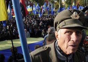 МВД: Акции по случаю 70-летия УПА в Киеве прошли без правонарушений