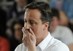 Ликвидация конкретных людей не входит в задачи НАТО в Ливии – премьер Великобритании