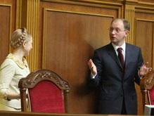 БЮТ не отпустит Яценюка до формирования новой коалиции