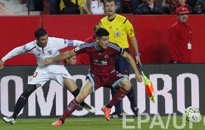 Коноплянка не спас Севилью от поражения в матче с Реал Сосьедадом