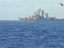 В Новороссийский порт прибыли корабли НАТО