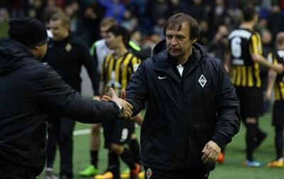Клуб Тимощука остался без тренера
