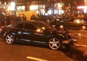 ГАИ: Bentley, сбивший регулировщика на Крещатике, принадлежит непубличному лицу