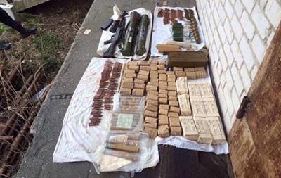 На Киевщине нашли оружие из зоны АТО