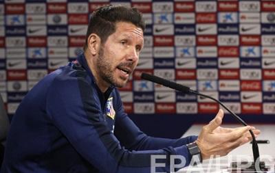 Тренер Атлетико: Мы превосходно играли до удаления