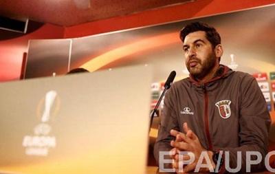 Тренер Браги: Матч з Шахтарем обіцяє бути непростим