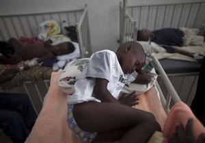 Распространение холеры на Гаити замедлилось