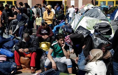 Беженцы устроили акции протеста в греческом Пирее