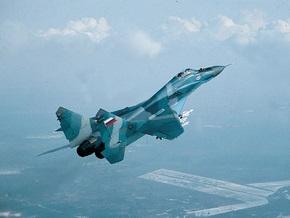 В России потерпел крушение истребитель МиГ-29