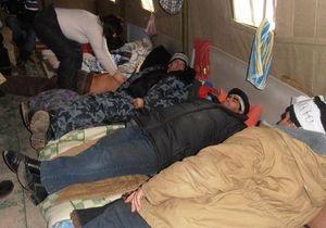 В Донецке и Львове продолжаются протесты чернобыльцев