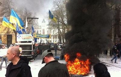 В Автомайдане открестились от акции в центре Киева
