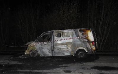 В Запорожье обстреляли и подожгли авто инкассаторов