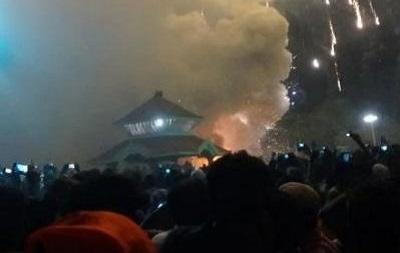 В Индии горел храм: 77 погибших