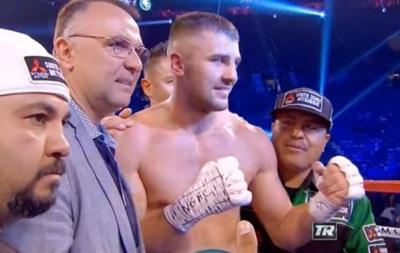 Украинец Гвоздик нокаутировал соперника во втором раунде
