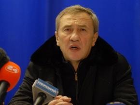 Черновецкий устроил на митинге концерт