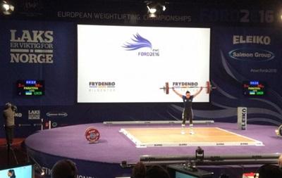 Украинка Паратова - вице-чемпионка Европы по тяжелой атлетике