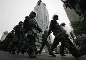 Пекин отказался комментировать сообщения о разгоне демонстраций в китайских городах