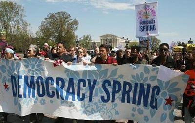 В Вашингтоне арестованы более 400 участников акции протеста