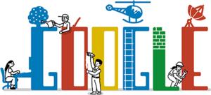 Google сменил логотип в честь Дня солидарности трудящихся
