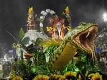Названы победители Бразильского карнавала. Шоу не прошло без курьезов