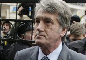 Ющенко не знает, нарушал ли Луценко закон при расследовании дела о его отравлении