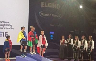 Украинка Ивасюк завоевала серебро чемпионата Европы по тяжелой атлетике