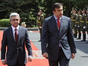 Саакашвили наградили орденом Чести
