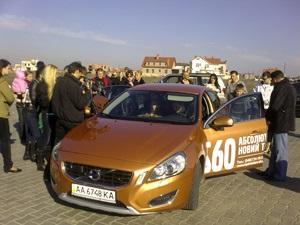 Новий, зухвалий Volvo підкорює Україну.