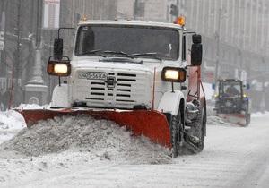 Глава Киевавтодора рассказал, куда делась снегоочистительная техника в столице