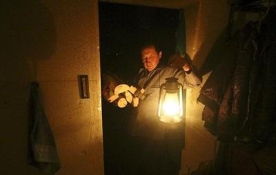 Из-за аварии три района Киева остались без света